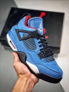 3f49eb0654f (Full size ) Exclusive Travis Scott X Jordan Brand Air Jordan 4 Sneaker  Footwear