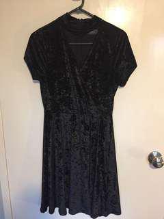 Brand new crushed velvet dress