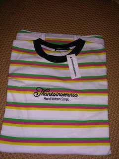 thanksinsomnia stripe tees