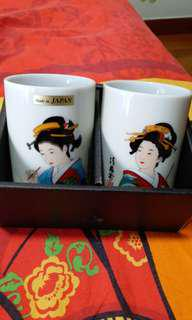 Made in Japan Tall tea Cup in boc