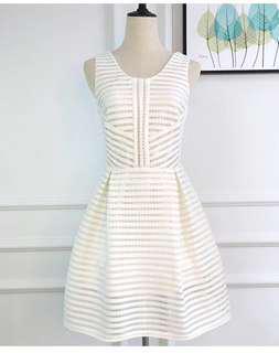 White Lantern Dress