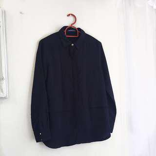 BLUE black top
