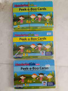 Mandarina Kids Flashcard Set 1-3
