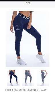 Echt Pima leggings navy activewear
