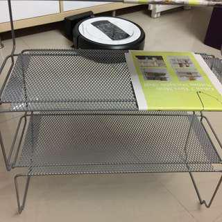 4 pcs Giken stackable wire rack no rust -$36 all