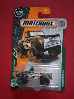 CPL - Ford bronco 4x4 matchbox