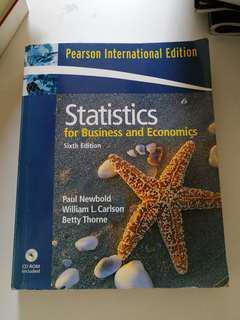 🚚 Statistics for Business and Economics