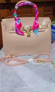 Glossy beachkin bag