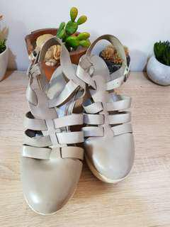 Wedges shoes charles & keith