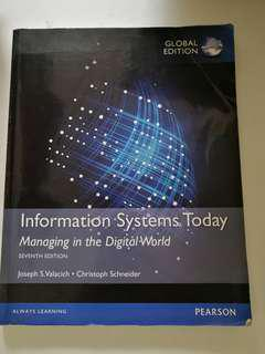 🚚 Information Systems Today