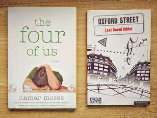 Modern Plays Bundle: The Four of Us by Itamar Moses & Oxford Street by Levi David Addai (Theatre)