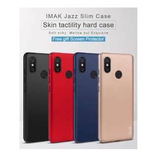 🚚 IMAK Full Cover Jazz Slim Hard Case for Xiaomi Mi 8  (Black)