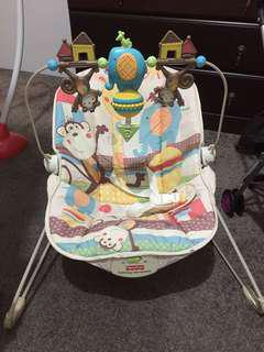 Fisher price calming vibration bouncer