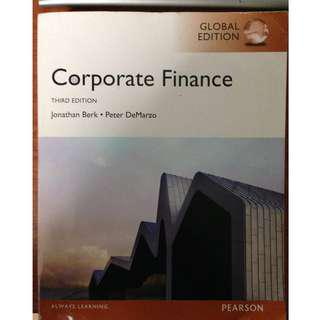 Corporate Finance Global Edition