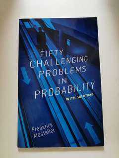 🚚 50 Challengeing Problems in Probability