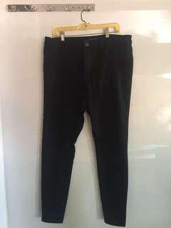Forever21 High Waist Black Pants