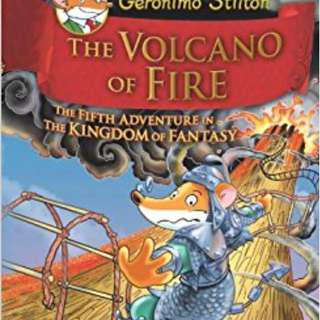 🚚 Geronimo Stilton Hardcover Series: The Volcano of Fire