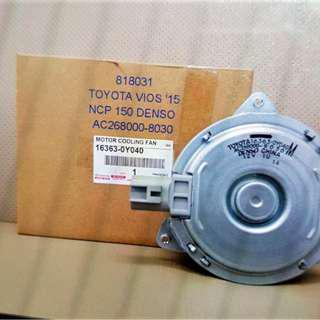 Toyota Vios (2015-) Genuine DENSO Aircond Blower Motor - 16363-0Y040)