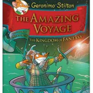 🚚 Geronimo Stilton Hardcover Series: The Amazing Voyage