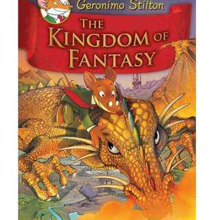 🚚 Geronimo Stilton Hardcover Series: The Kingdom of Fantasy