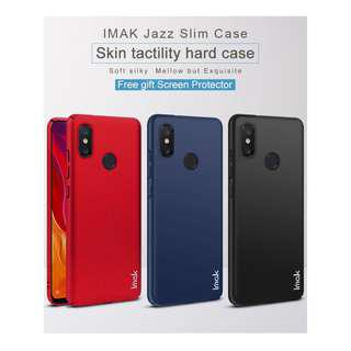 🚚 IMAK Full Cover Jazz Slim Hard Case Xiaomi Mi 8 SE  (Black)