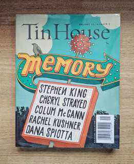 Tin House: Issue No. 59, Memory (Literary Magazine)