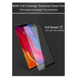 🚚 IMAK Full Tempered Glass Screen Protector Xiaomi Mi 8 SE