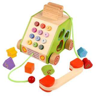 Telephone Shape Sorter