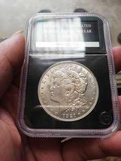美國pcs認証 1921摩根銀