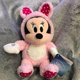 《全新》景品 - Minnie Mouse 米妮老鼠 扮兔仔 兔子