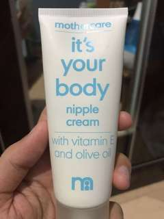 It's your body nipple cream mothercare
