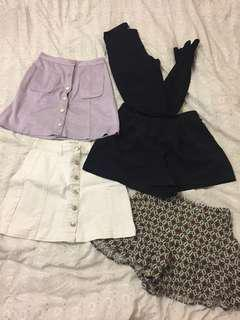 Hollister // Gina Tricot // Beginning Boutique// Asos // Princess Polly // Glassons // Coty Beach // General Pants and co