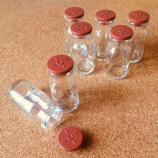 Recycled Clean Empty Vials