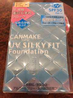 Canmake UV Silky Fit Foundation spf 30 PA++