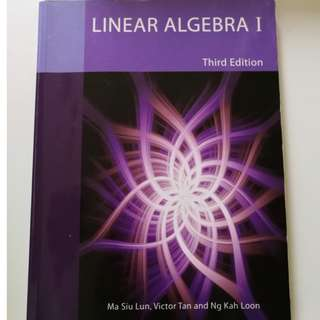 🚚 Linear Algebra I