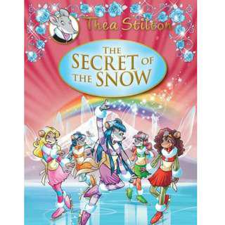 🚚 Thea Stilton Hardcover Series : The Secret of The Snow