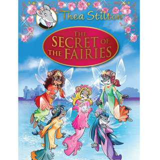 🚚 Thea Stilton Hardcover Series : The Secret of The Fairies