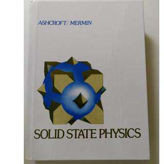 🚚 Solid State Physics