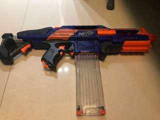 Nerf Gun CS-18,可議價,新舊如圖,如要更多圖可私我
