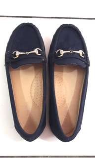 Sepatu neo far_be biru donker