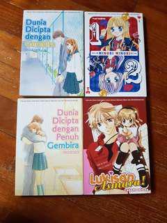 🚚 Japanese Manga (Malay ver.)