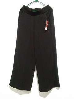 (+Bonus) (New) Celana Kulot Hitam Polos