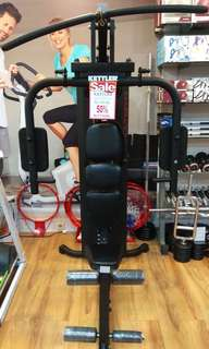Kettler Multi Gym Black (Promo Kredit & Discount Hingga 50%)