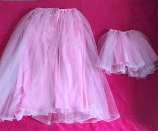Mother&Daughter Twinning Tutu Skirt