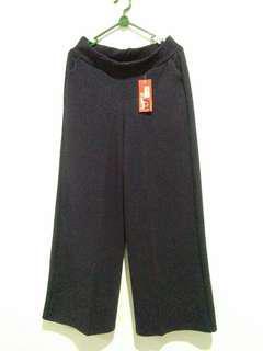 (+Bonus ) (New) Celana Kulot Navy Polos