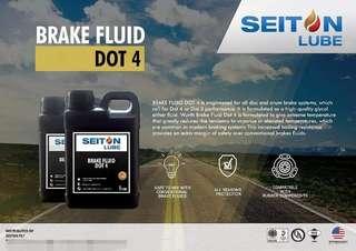 SEITON LUBE Brake Oil Service Dot 4
