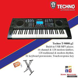 Techno T-9880i g2 Electronic Keyboard