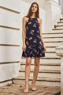 🚚 bnwt bnip tcl the closet lover miliana floral dropwaist dress