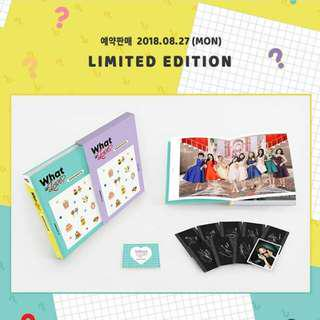 TWICE - WHAT IS LOVE MONOGRAPH