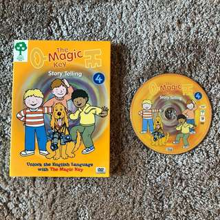 Oxford Magic Key - Story Telling DVD